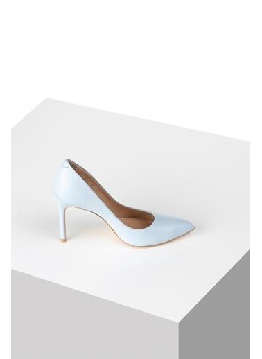 Pier Lucci Hakiki Deri Ayakkabı Mavi